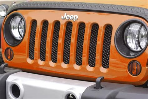 rugged ridge grill inserts rugged ridge 11401 31 black gloss mesh grille insert screen automotive