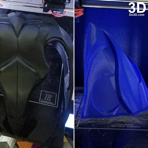 Poster Blue Ranger Hiasan Dinding 3d printable model black ranger helmet and armor