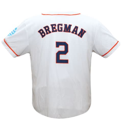 Jeff Bagwell Jersey Giveaway - april 29 2017 houston astros alex bregman replica white jersey