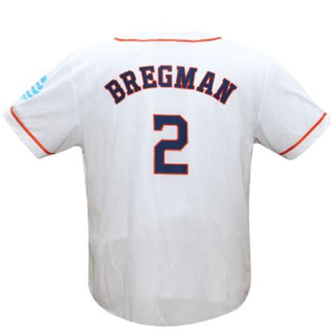 Houston Astros Giveaways 2017 - april 29 2017 houston astros alex bregman replica white jersey
