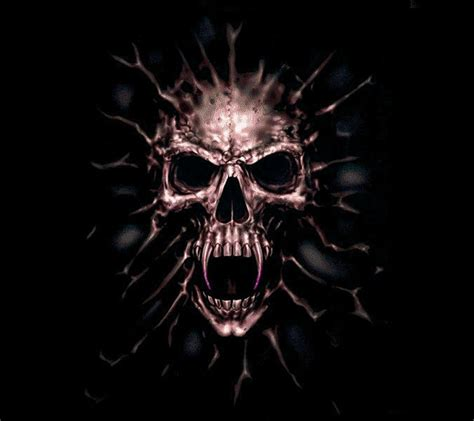 scary skulls images scary skull horrible angry anger