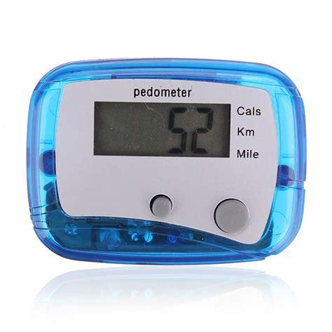 digital step pedometer walking distance calorie counter alex nld