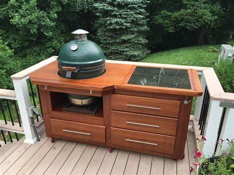 bge cabinet completed checked out big green egg