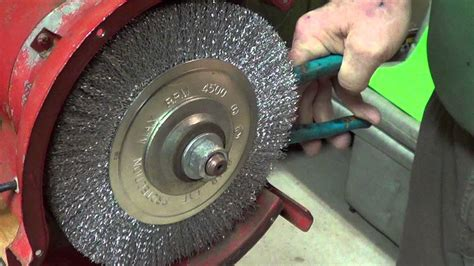 how to change a bench grinder wheel replace a grinder stone part three 3 4 2016 youtube