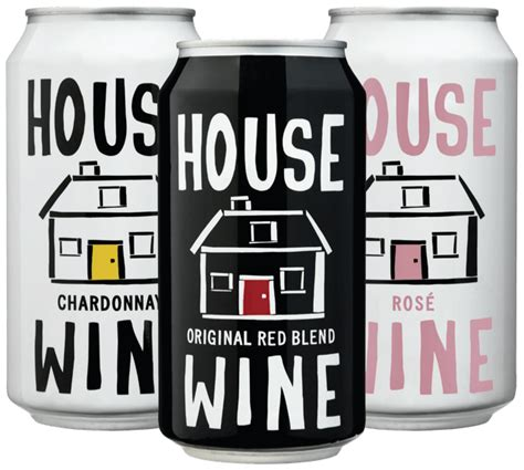House Wine by Free House Wine Can Release Tasting