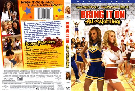 Dvd Bring It On bring it on all or nothing dvd scanned covers 1322bring it on all or nothing dvd