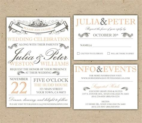 free wedding invitation suite templates free wedding invitation suite templates sletemplatess