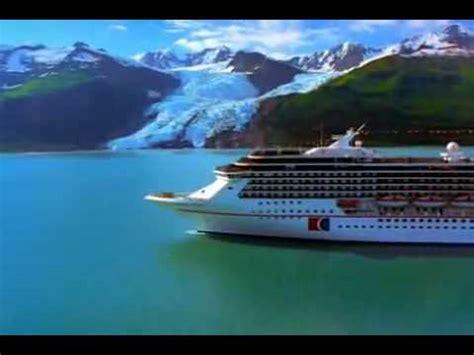 alaska cruise ship vacation carnival cruise line youtube
