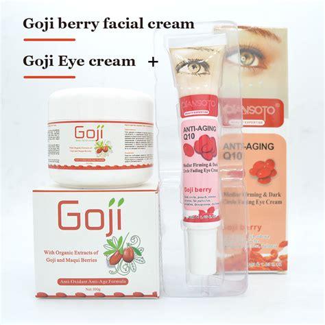 White Lotion Berhologram Original original goji eye goji whitening skin care anti wrinkle eye