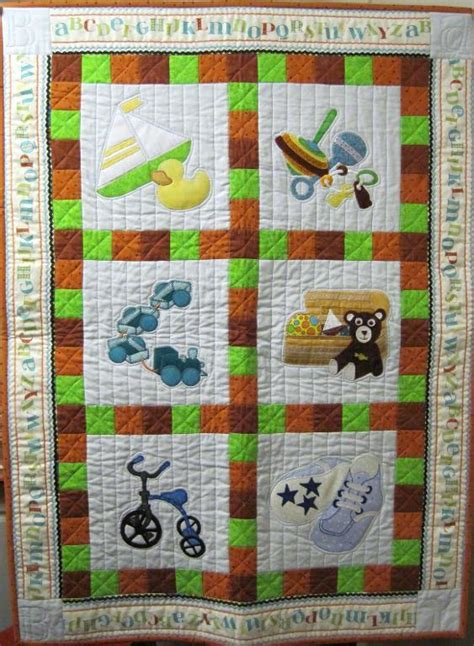 boys toys baby quilt by megan poet s corner quilts