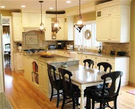 kitchen island eating area 25 best ideas about island table on pinterest kitchen