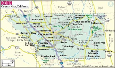 map of bakersfield kern county map bakersfield ca mappery