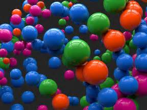 colorful balls desktop wallpaper 3d colorful reflecting balls hd desktop