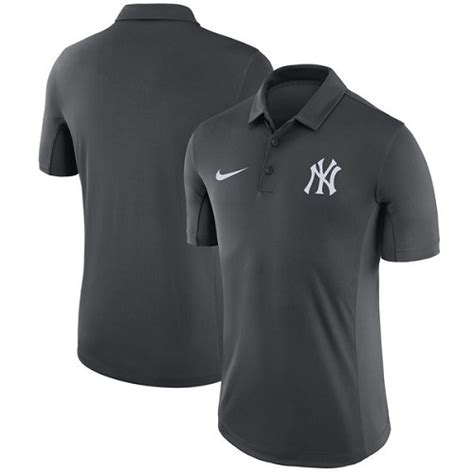 Polo Shirt Nike Yankees All Color mlb s new york yankees nike anthracite franchise polo t shirt