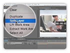 Extend A Specific Placeholder After Effects Video Tutorial Split Layer After Effects Template
