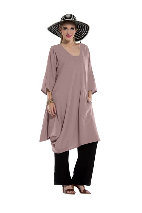 comfortable clothing oh my gauze lea blouse or dress tunic 100 comfortable