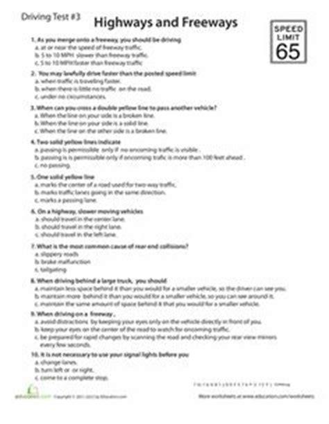Printable Dmv Practice Test