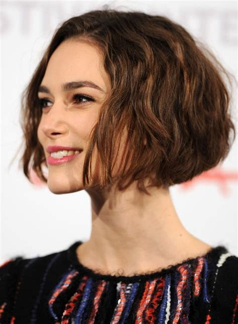 curly layered ear length hair styles jaw length layered haircuts haircuts models ideas