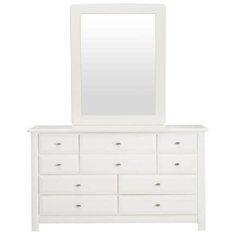 Laguna Dresser by City Furniture Laguna White Dresser