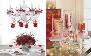 table decoration ideas for a christmas party room