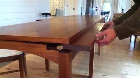 Expandable Dining Table For Small Spaces by Primmer Expanding Table Youtube