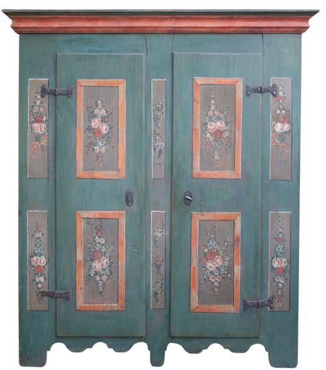 armadio dipinto armadio dipinto tirolese a due ante antichit 224 missaglia