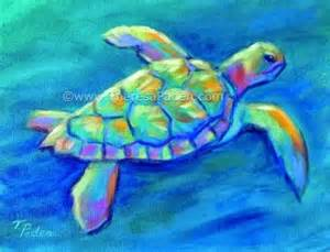 colorful turtles 1000 ideas about turtle painting on sea