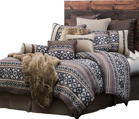 southwestern comforters sets shop houzz bitterroot bit and spur comforter set
