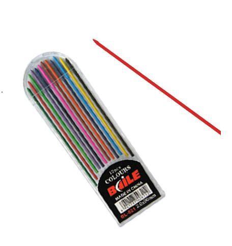 colored lead mechanical pencils wholesale 10 sets 2mm mechanical pencil refill 12 colored