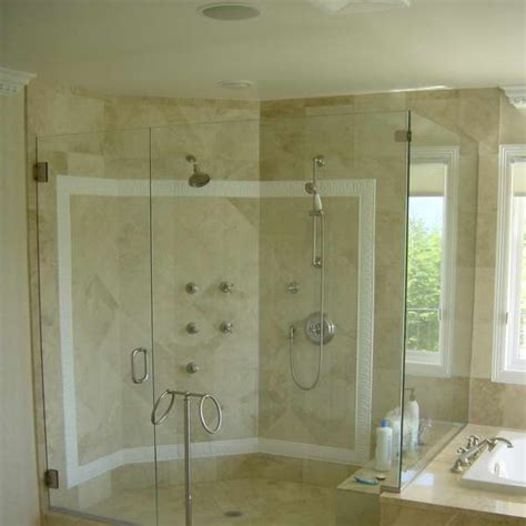 Glass Shower Doors And Walls Bloombety Glass Shower Doors Miami With Wall Speaker Add Style To Your Bathroom With Glass