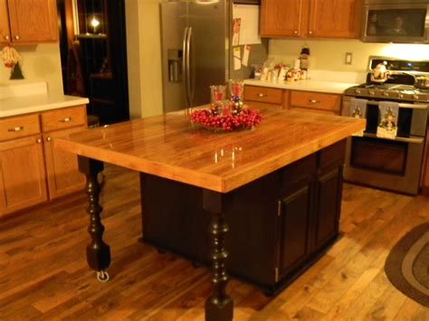 Refacing Old Kitchen Cabinets Hand Crafted Rustic Barn Wood Kitchen Island By Black