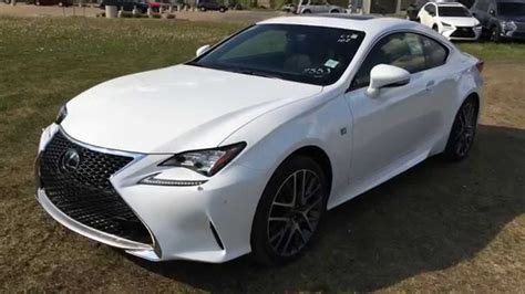 lexus rc f manual ultra white 2015 lexus rc awd f sport series 2