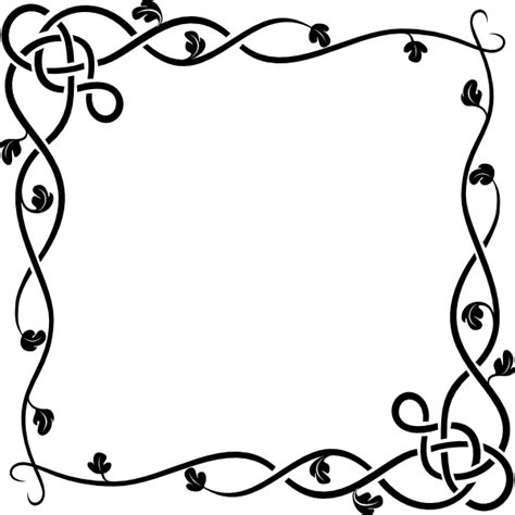 vine border clip art  clkercom vector clip art