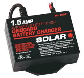solar brand battery chargers 12 volt solar brand sol1002 1 5 12v automatic on board battery