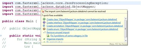 pattern dotall java java eclipse class path issue with jackson lib gradle
