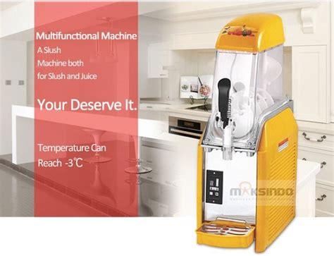 Mesin Es Salju jual mesin slush es salju dan juice slh01 di surabaya