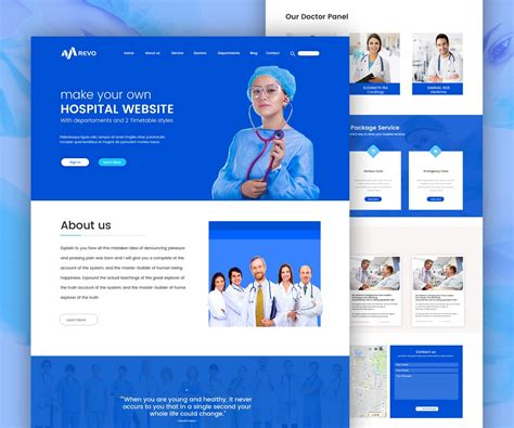 Hospital Website Template Free Psd Download Download Psd Psd Website Templates Free 2017