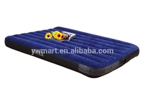 are air mattresses comfortable high quality comfortable flocking inflatable air mattress