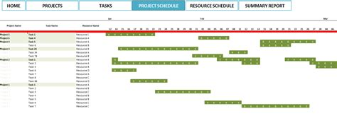 sle project schedule template diy free project plans in excel plans free