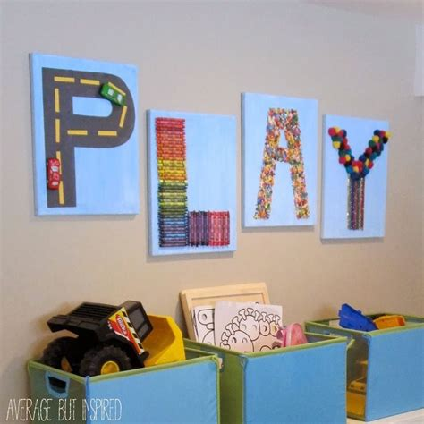 25 best ideas about playroom wall decor on