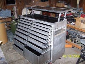 Handmade Tools - rolling tool chest homemadetools net