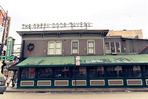 The Green Door Tavern by Raise A Glass To Toast Prohibition Speakeasies Chicago Architecture