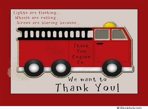 truck thank you card template trucks picmia
