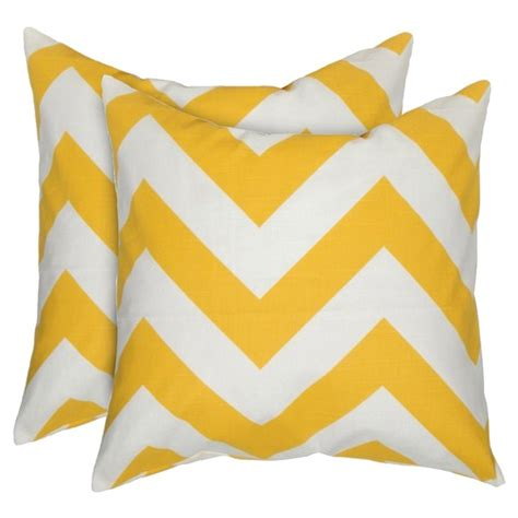 Yellow Chevron Pillow yellow chevron pillows for the home
