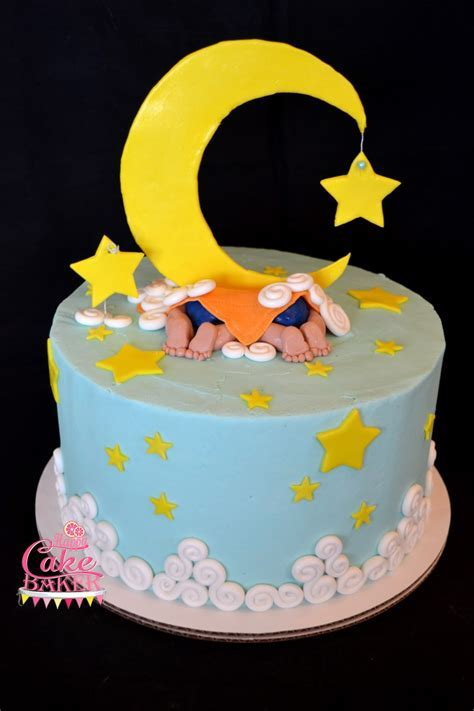 Moon & Stars ? Twins ? Happy Cake Baker