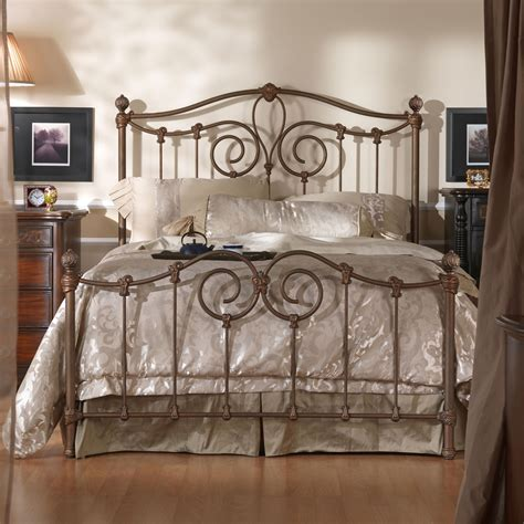 iron king bed wesley allen iron beds king olympia metal bed olinde s furniture panel beds