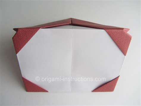 Picture Frame Origami - origami photo frame folding