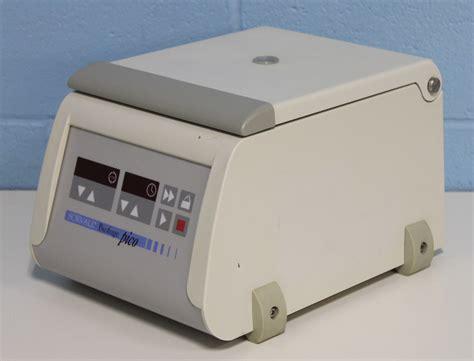 bench top centrifuge refurbished sorvall kendro biofuge pico benchtop centrifuge