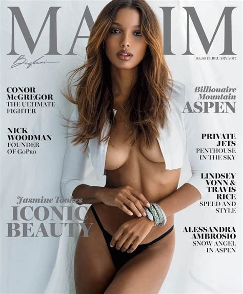 Jasmine Tookes Is Maxim S February Cover Girl Maxim