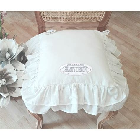 cuscini stile provenzale federa cuscino sedia 4 shabby chic biancheria cucina